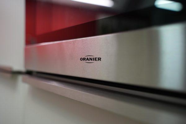 Bauformat L-Küche mit Oranier Backofen