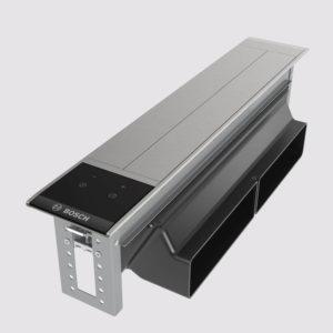 Bosch Tischlüfter Klarglas schwarz bedruckt accent line DIVO16G50
