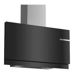 Bosch Wandesse Dunstabzug Design Klarglas schwarz DWF97KS69