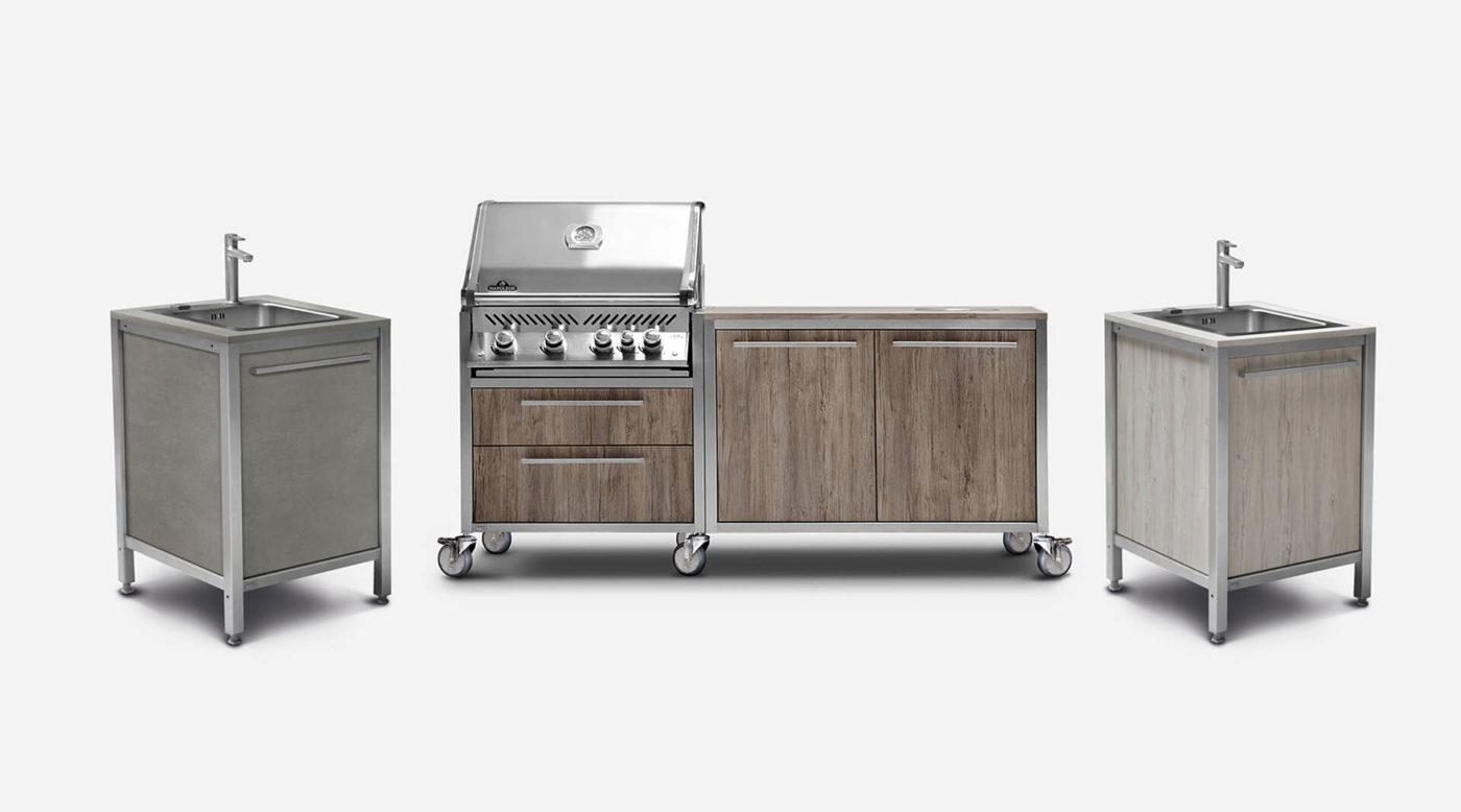 Burnout Outdoorküchen Modul Küche Küchenhalle Winnenden