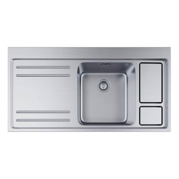 Franke Küchen-Spüle Largo Work Center Edelstahl 115.0006.518