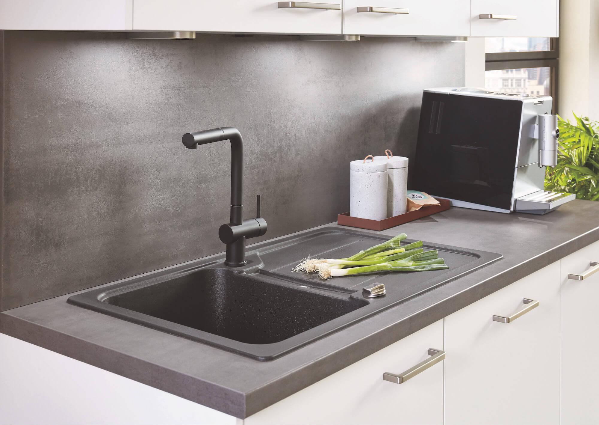 Nobilia Elements Küchenzeile Modern Küchenspüle