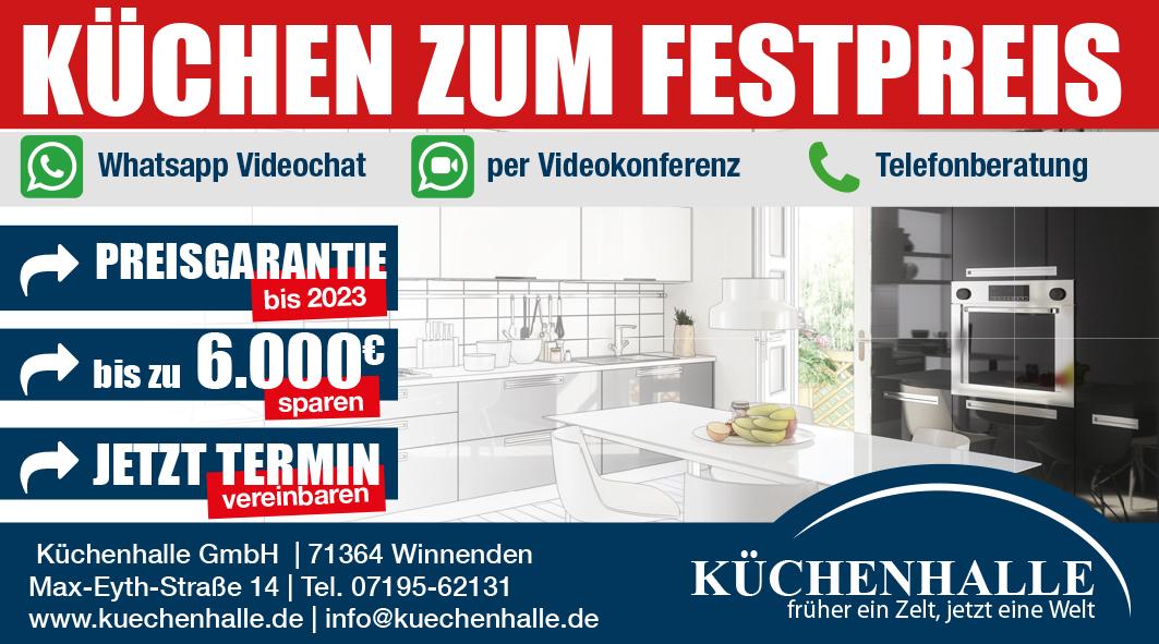 Küchenhalle Winnenden - Küchen zum Festpreis 6000 € sparen bei Küchenkauf