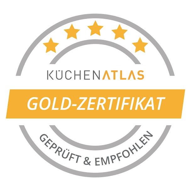 KüchenAtlas Gold Zertifikat Küchenhalle winnenden
