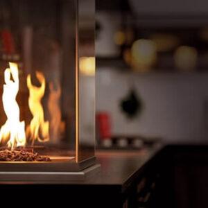 Burn Out Küchen Outdoor Feuerstelle